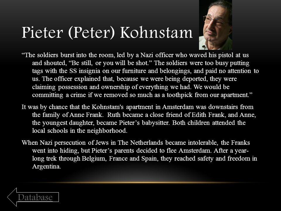 Pieter (Peter) Kohnstam
