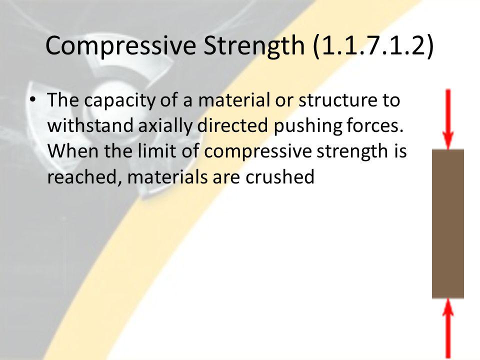 Compressive Strength (1.1.7.1.2)