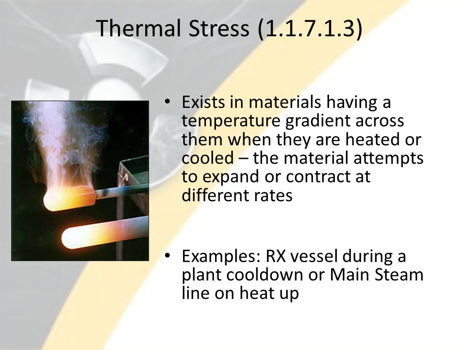 Thermal Stress (1.1.7.1.3)