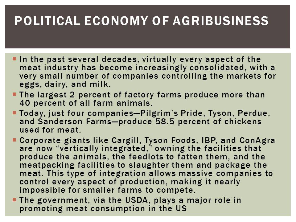 Political Economy of Agribusiness