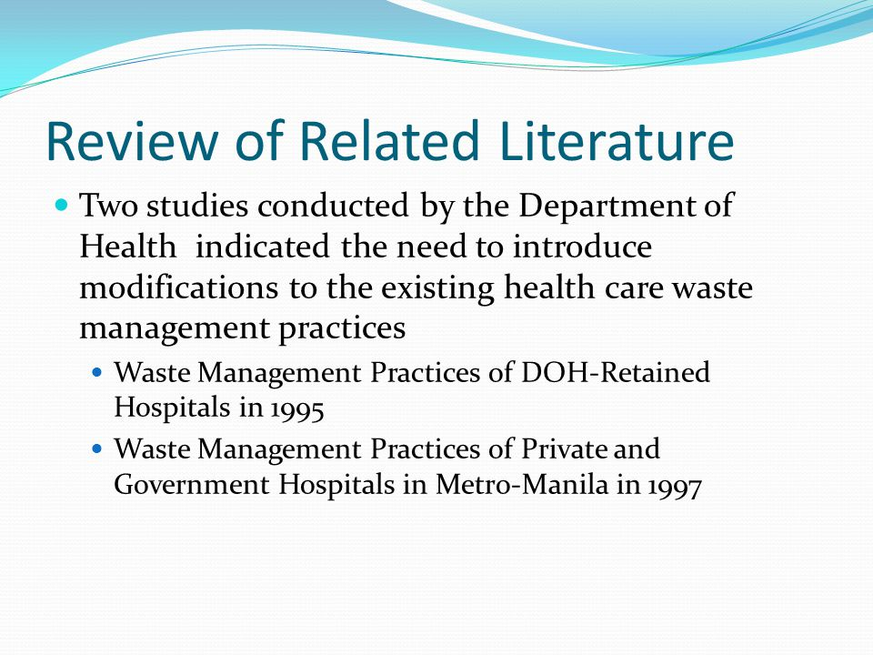 related literature and study of management Review of literature on employee management based on the study of these management issues, the study concludes that poor leadership review of related literature.