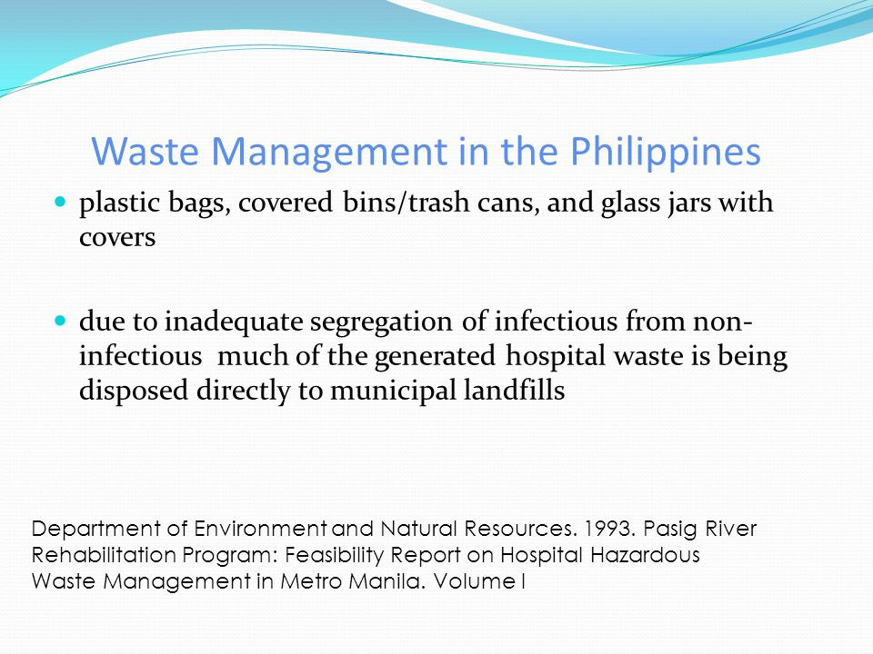 Waste Management in the Philippines