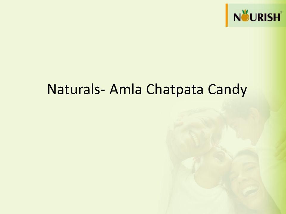 Naturals- Amla Chatpata Candy