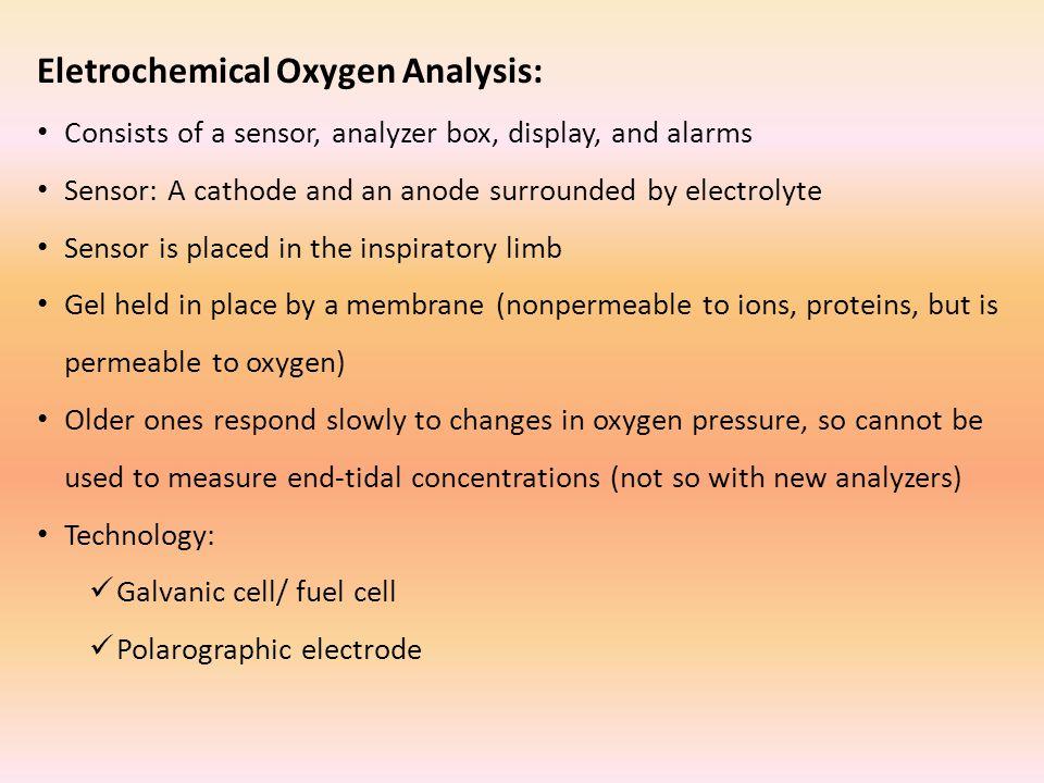 Eletrochemical Oxygen Analysis: