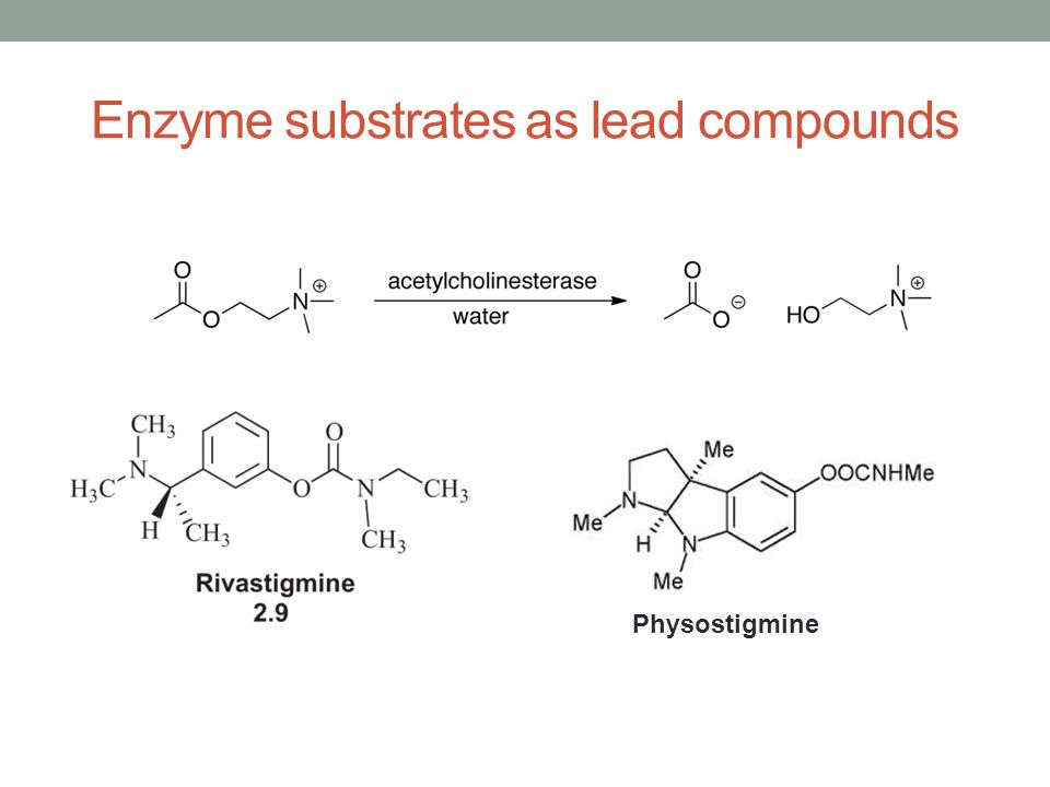 Enzyme substrates as lead compounds