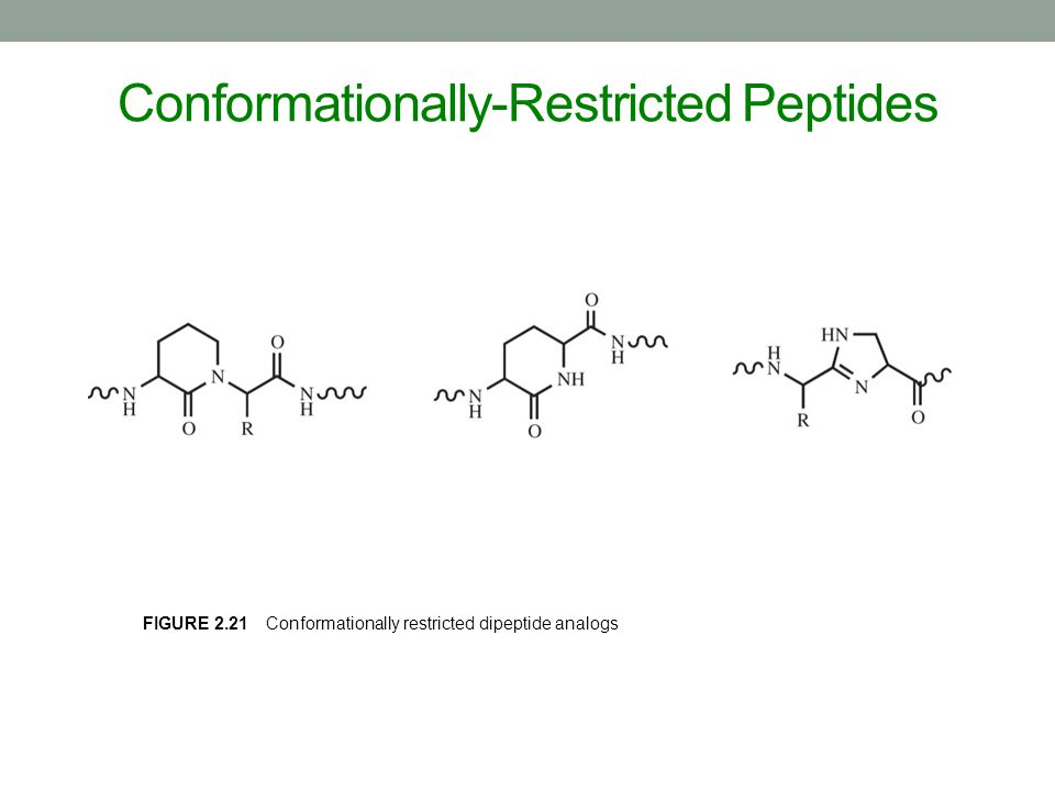 Conformationally-Restricted Peptides