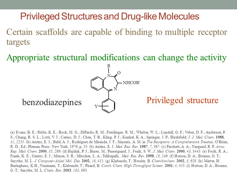 Privileged Structures and Drug-like Molecules