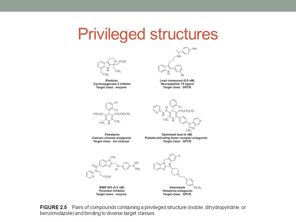 Privileged structures