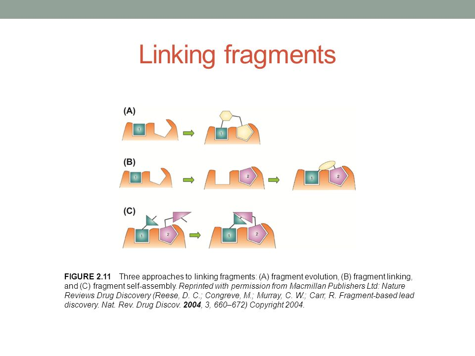 Linking fragments