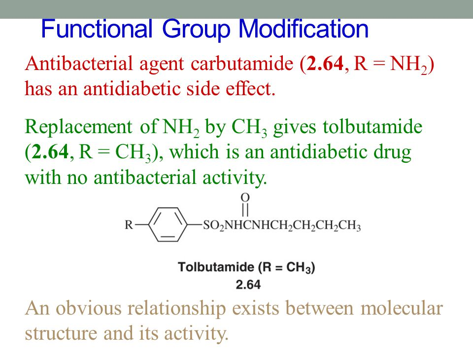 Functional Group Modification
