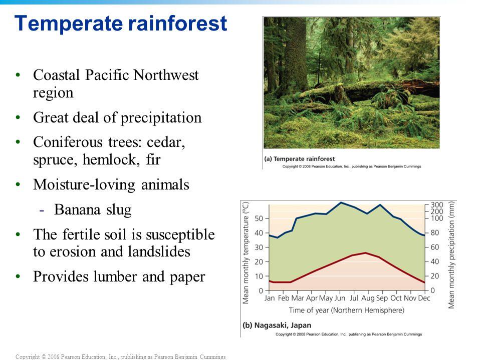 Temperate rainforest Coastal Pacific Northwest region