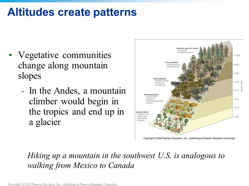 Altitudes create patterns