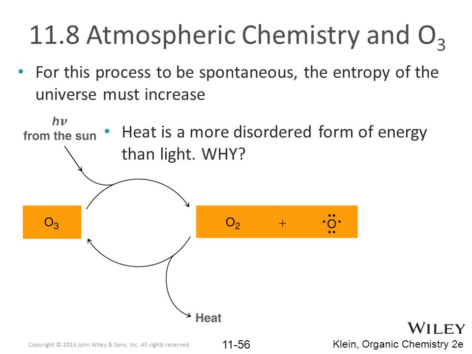 11.8 Atmospheric Chemistry and O3