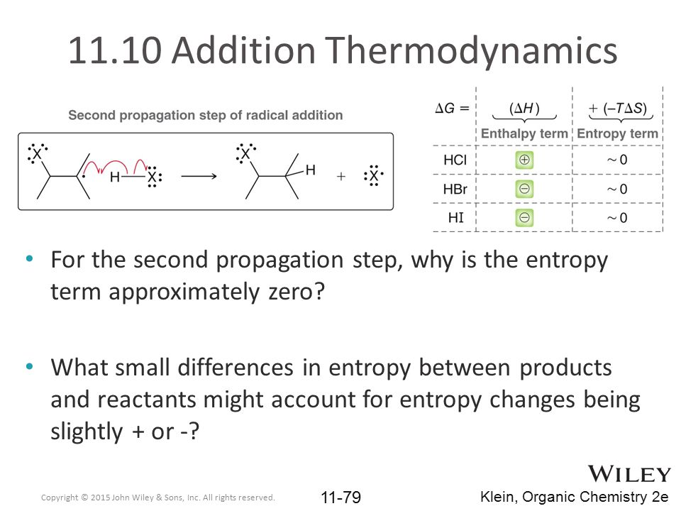 11.10 Addition Thermodynamics