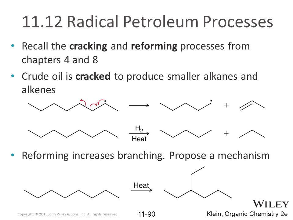 11.12 Radical Petroleum Processes