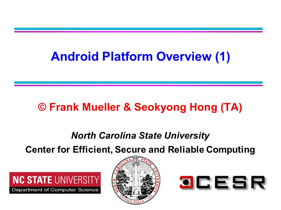 Android Platform Overview (1)