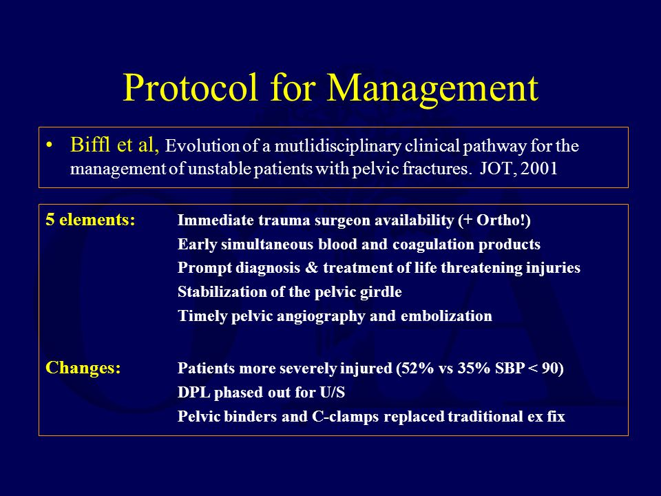 Protocol for Management