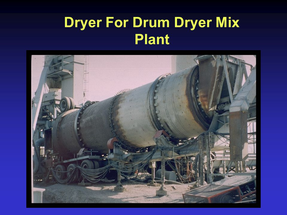 Dryer For Drum Dryer Mix Plant