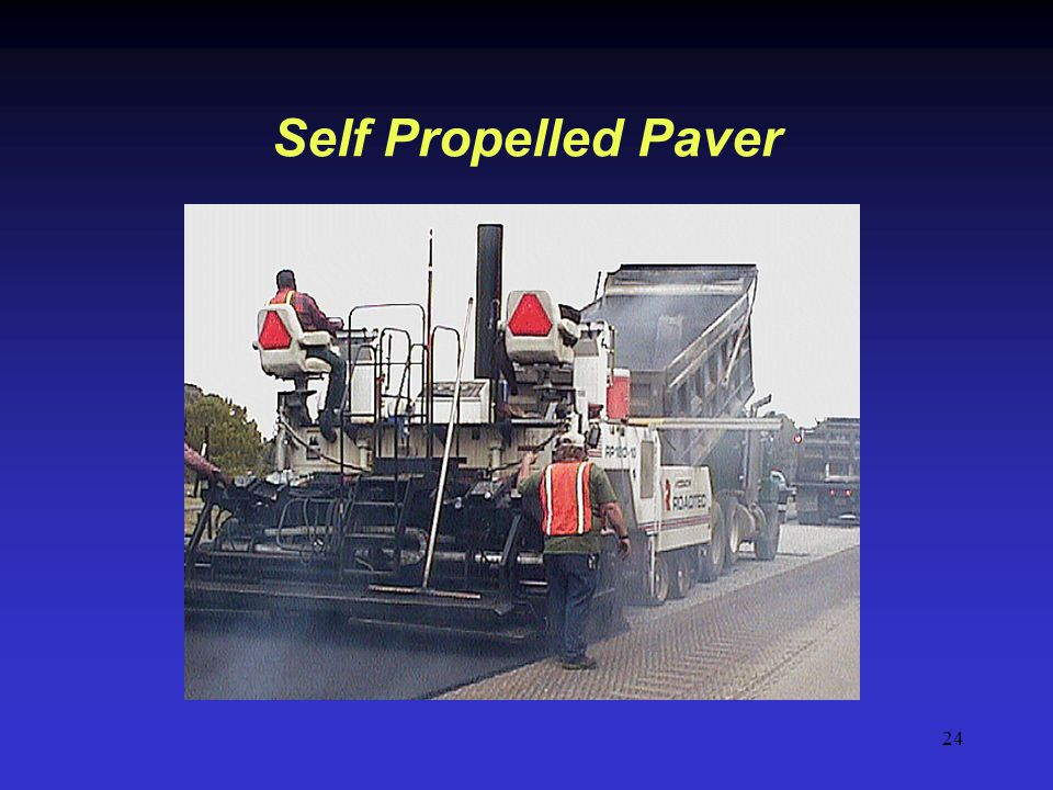Self Propelled Paver