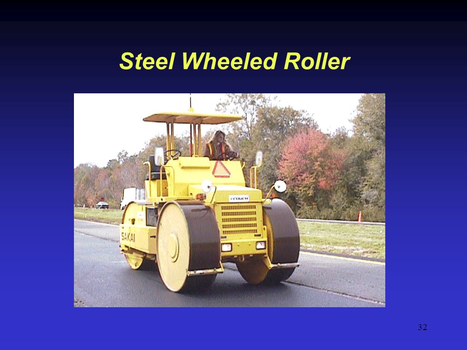 Steel Wheeled Roller Steel wheel rollers range from 3 to 14 tons.