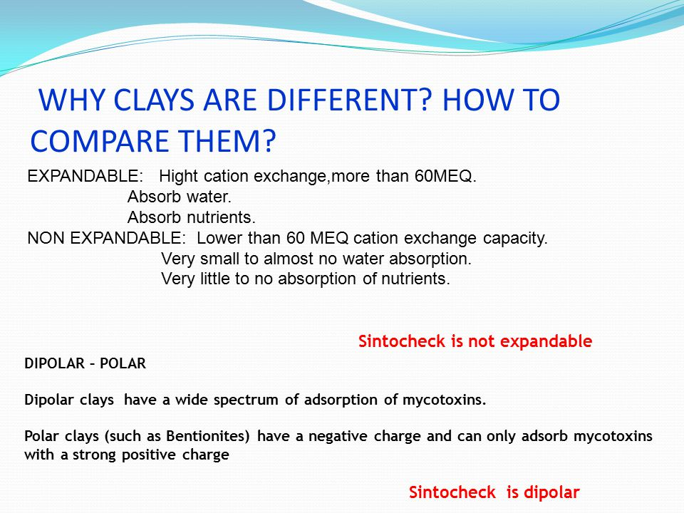 WHY CLAYS ARE DIFFERENT HOW TO COMPARE THEM