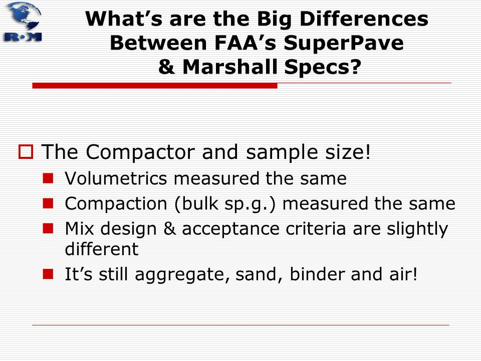 The Compactor and sample size!