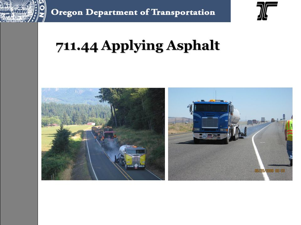 711.44 Applying Asphalt