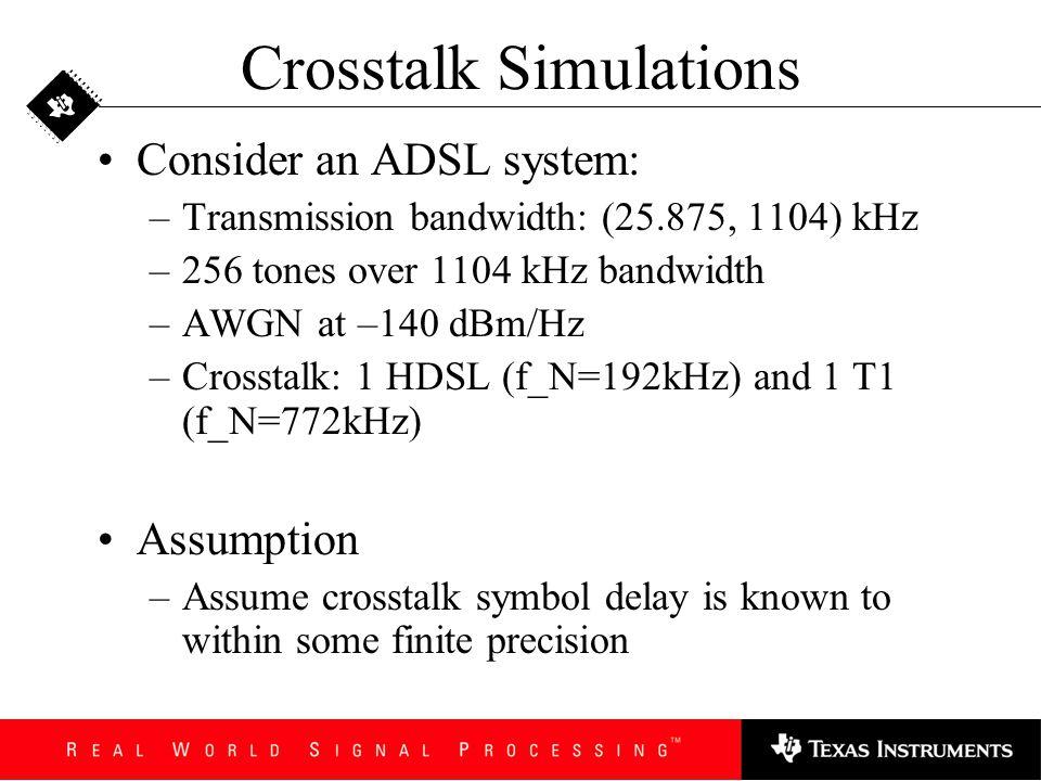 Crosstalk Simulations