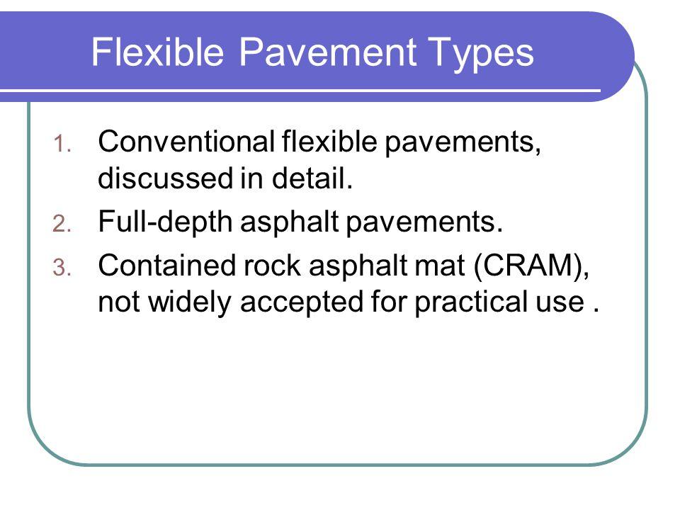 Flexible Pavement Types