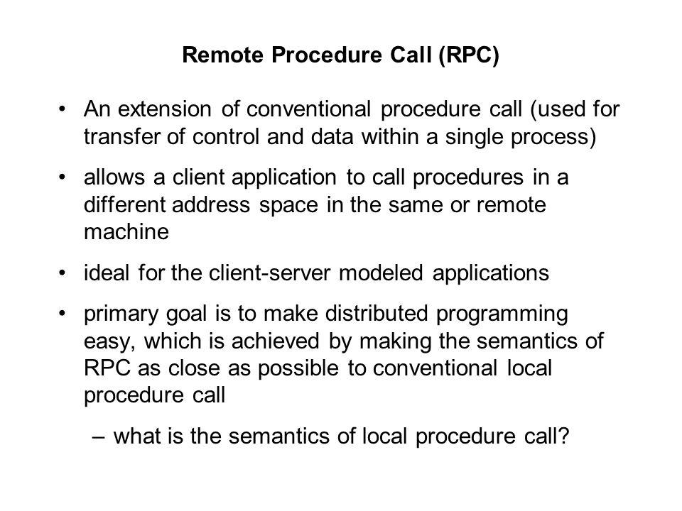 remote procedure call protocol pdf