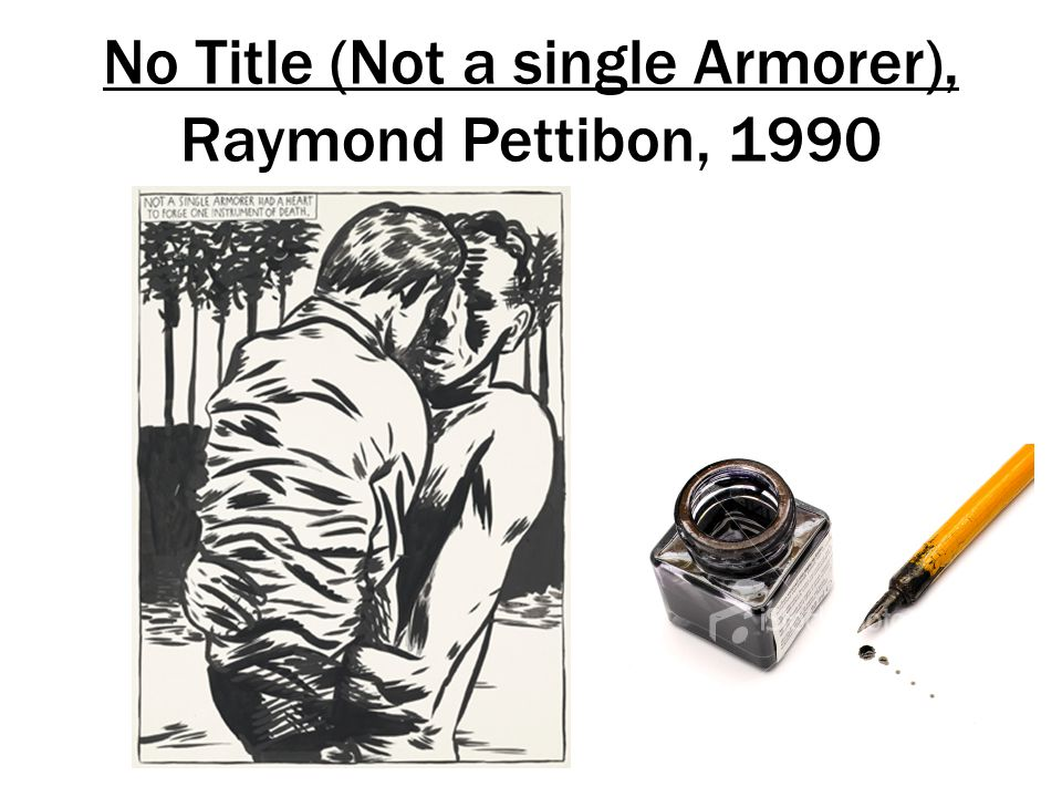 No Title (Not a single Armorer), Raymond Pettibon, 1990