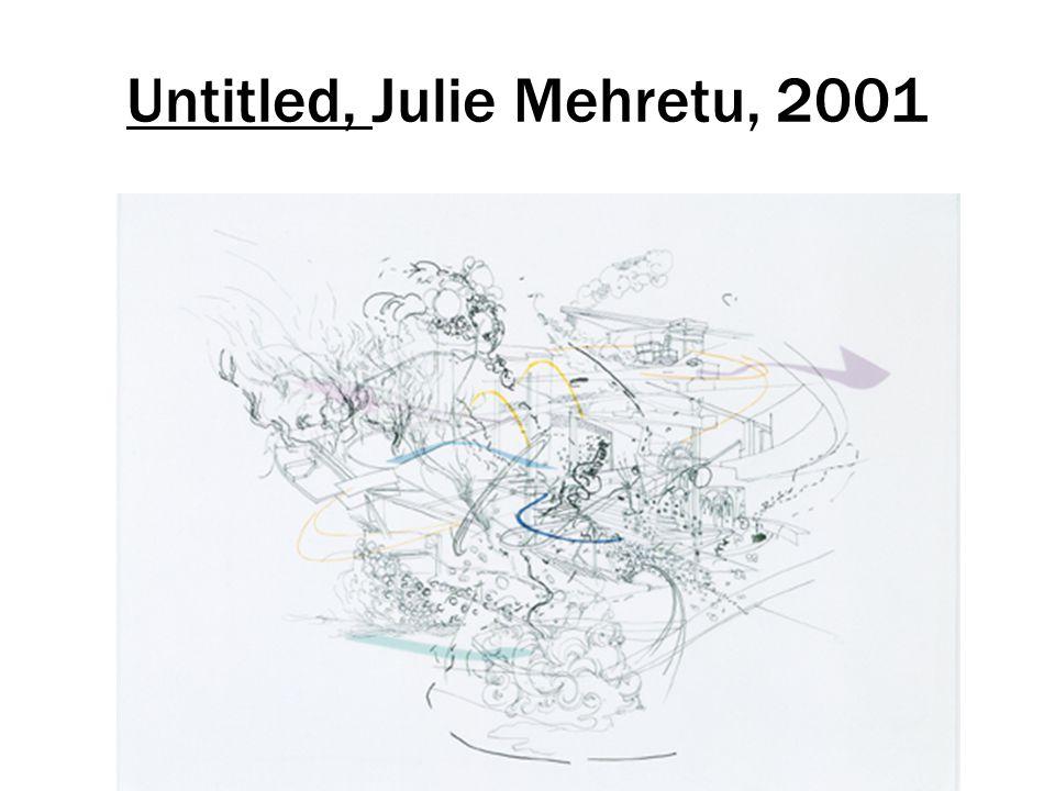 Untitled, Julie Mehretu, 2001