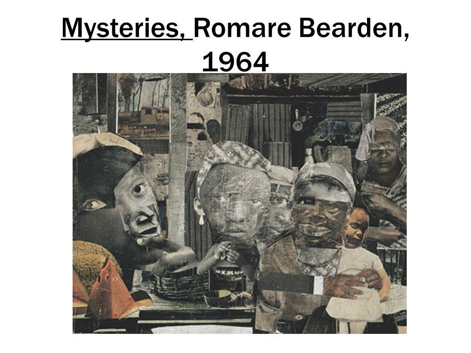 Mysteries, Romare Bearden, 1964
