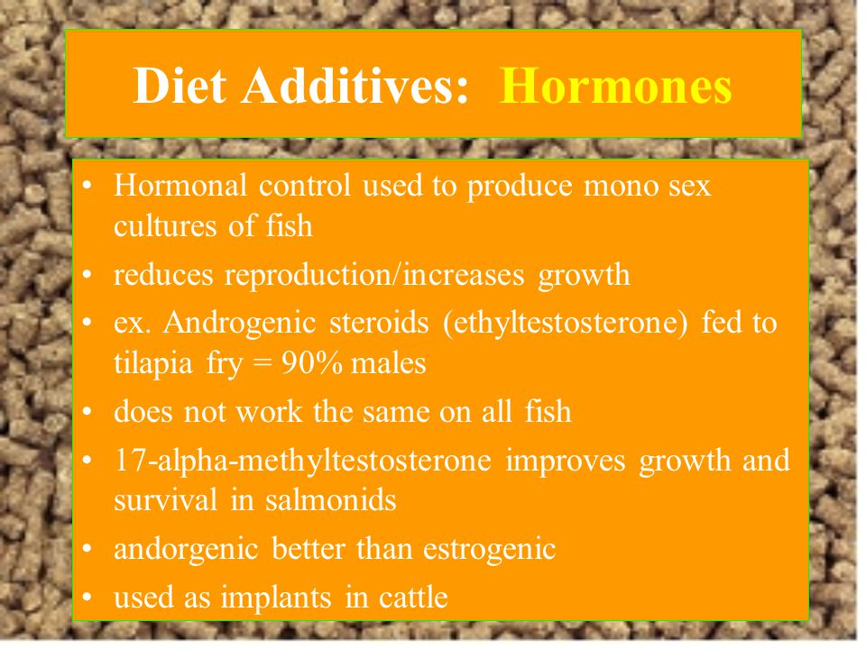 Diet Additives: Hormones