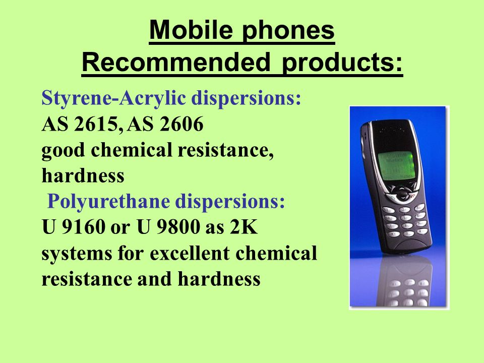 Mobile phones Recommended products: