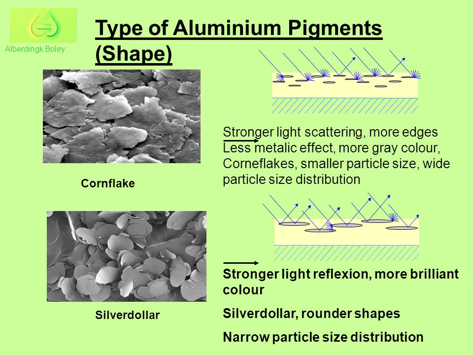 Type of Aluminium Pigments (Shape)