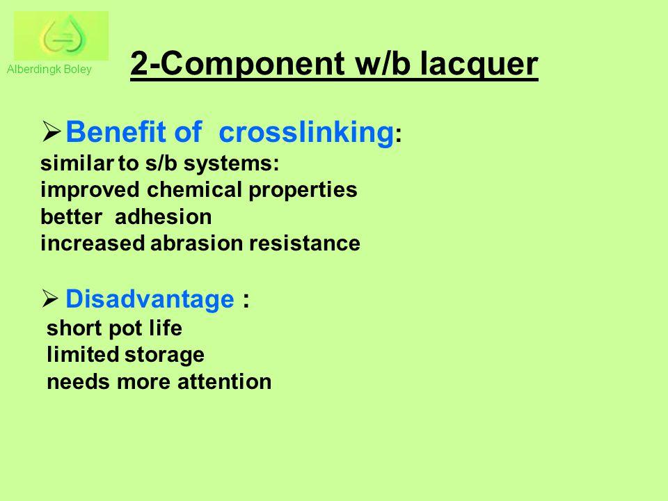 2-Component w/b lacquer