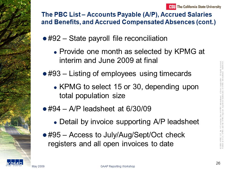 #92 – State payroll file reconciliation
