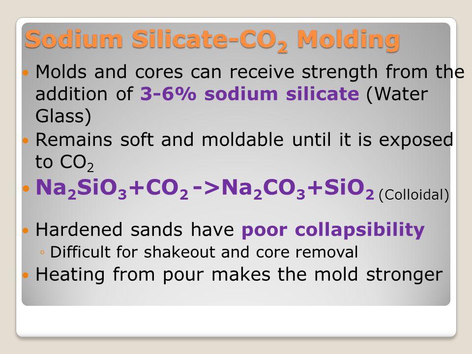 Sodium Silicate-CO2 Molding