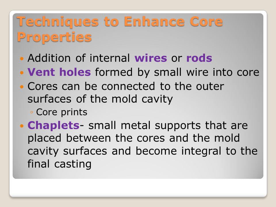 Techniques to Enhance Core Properties