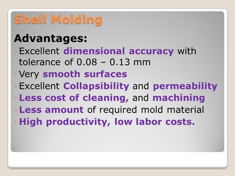 Shell Molding Advantages: