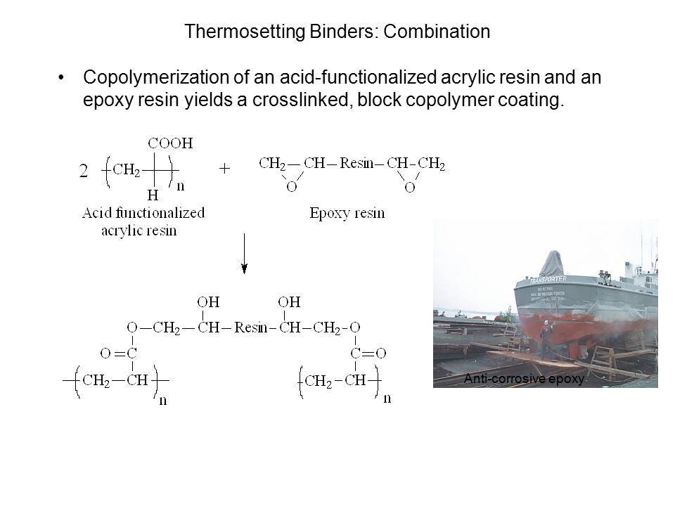 Thermosetting Binders: Combination