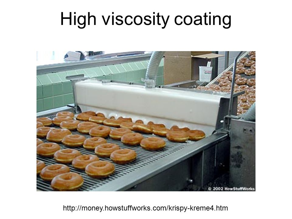 High viscosity coating