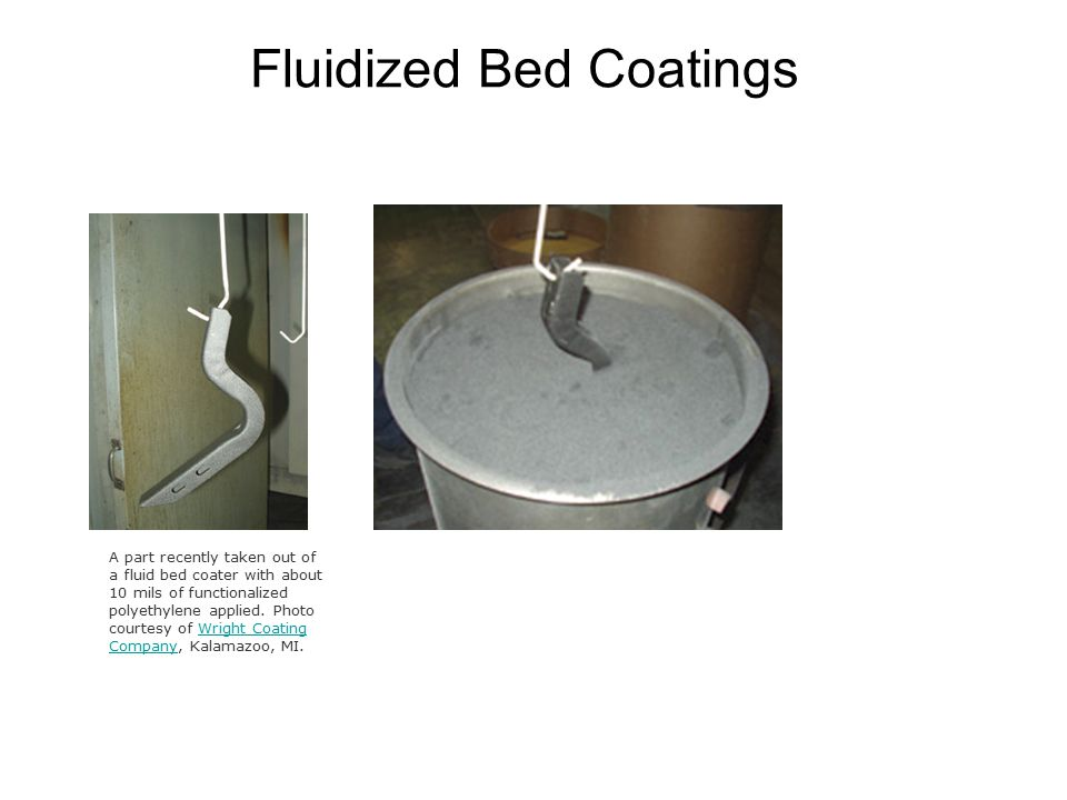Fluidized Bed Coatings
