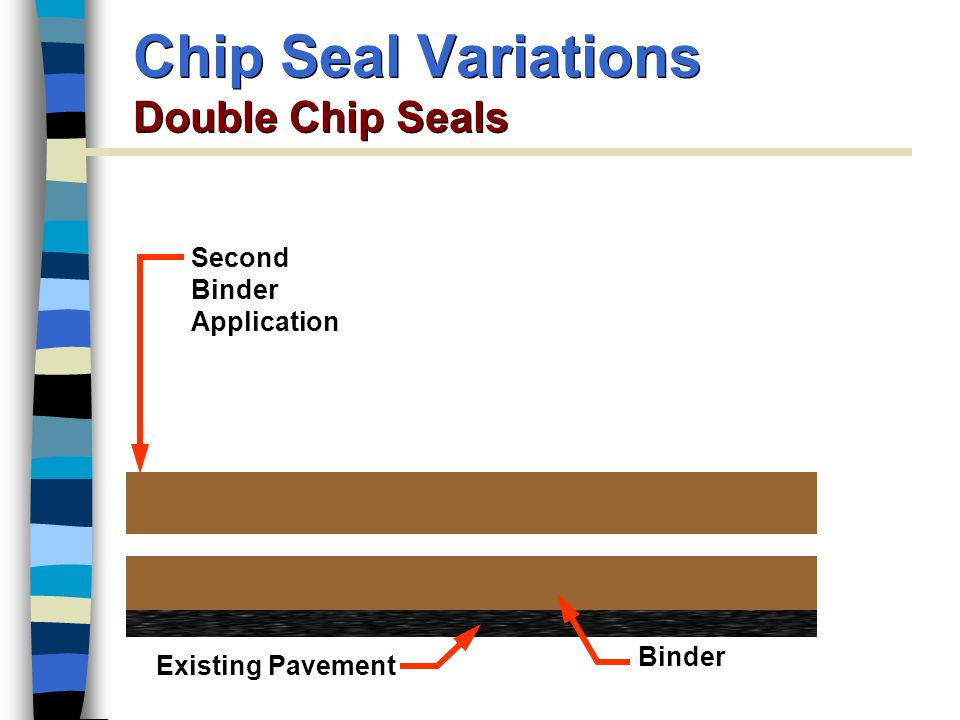 Chip Seal Variations Double Chip Seals