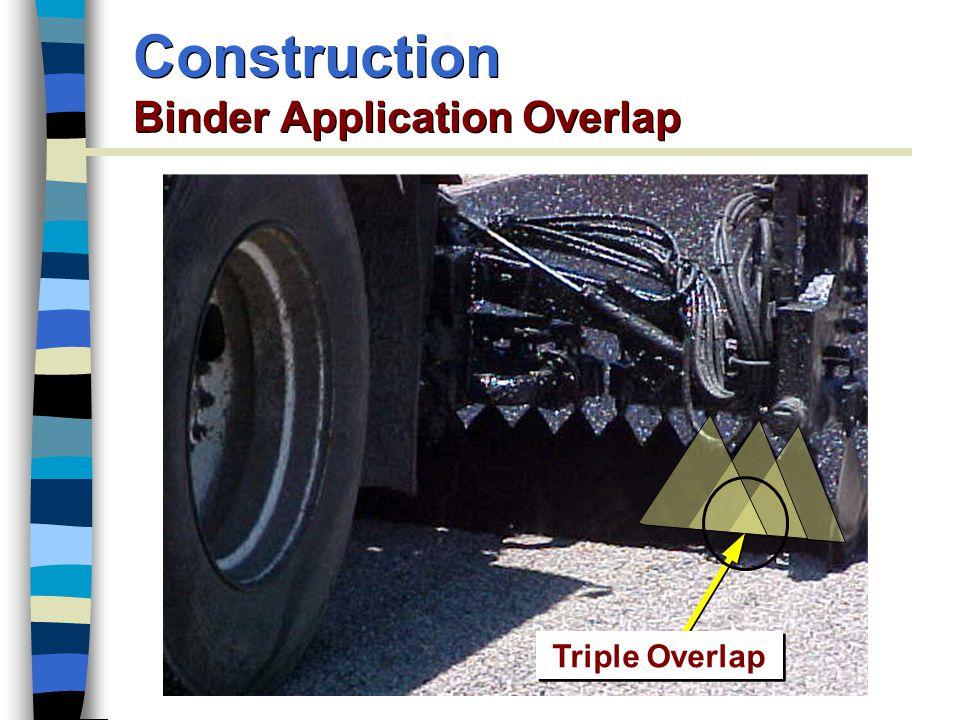Construction Binder Application Overlap