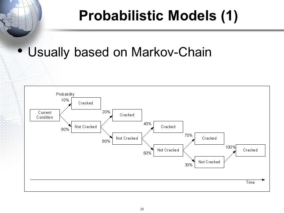 Probabilistic Models (1)