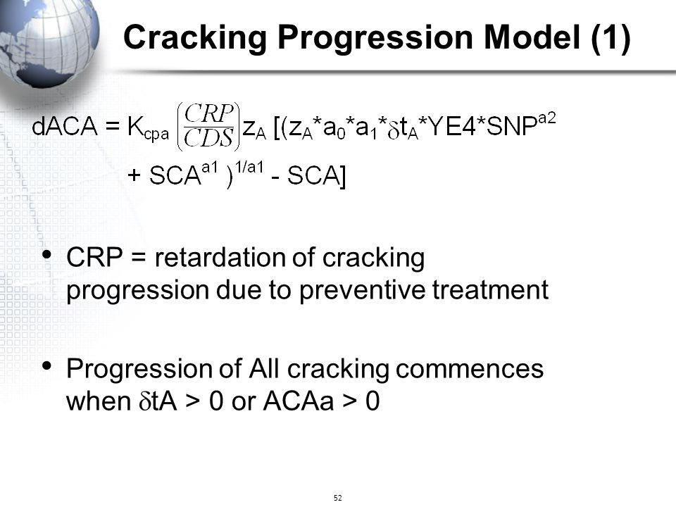 Cracking Progression Model (1)