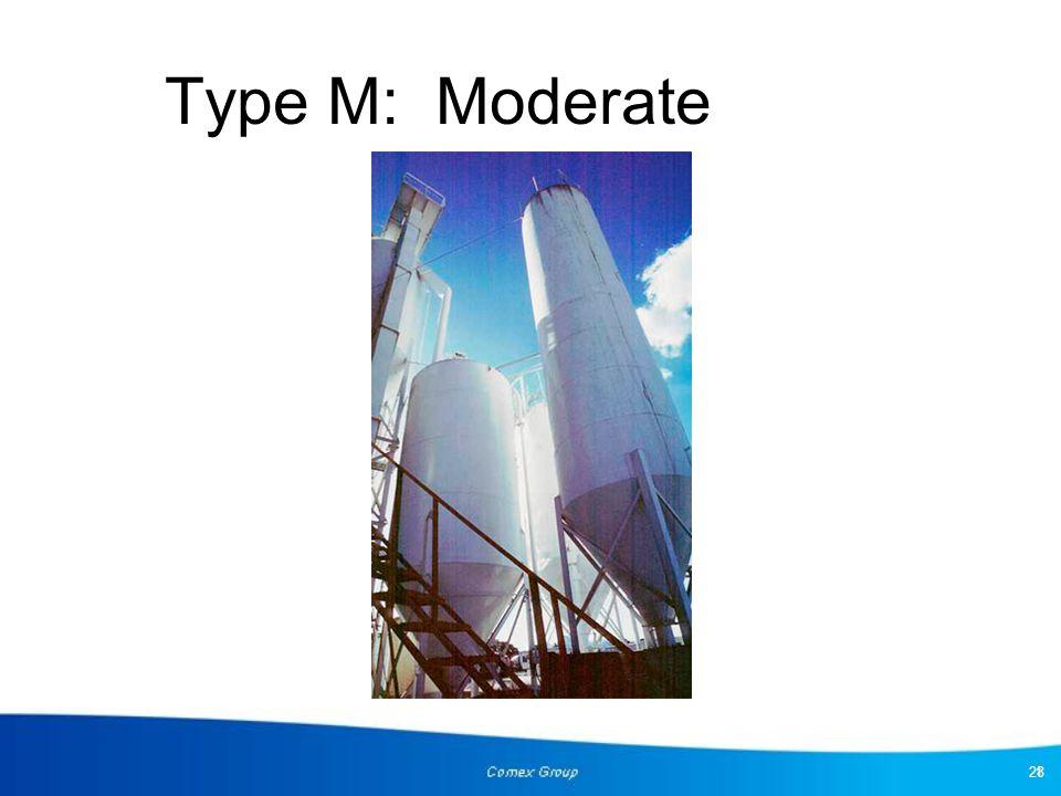 Type M: Moderate 28