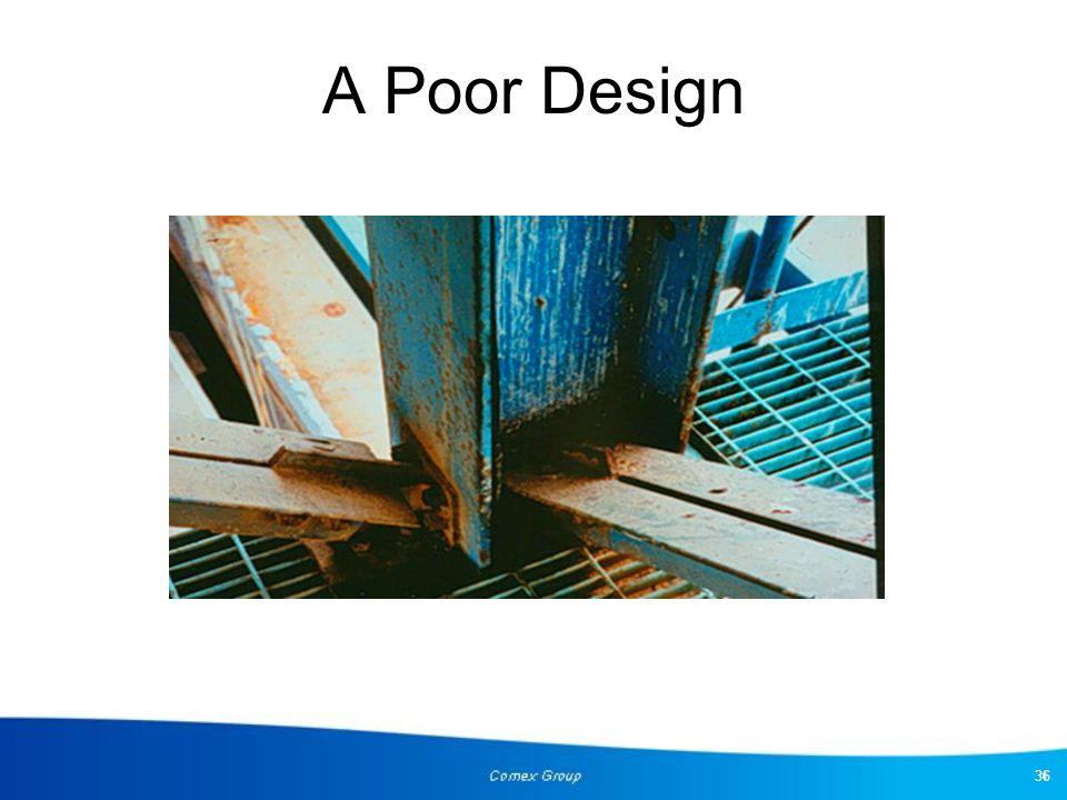 A Poor Design 36